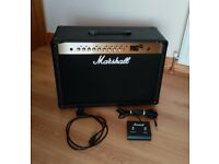 """Marshall MG100FX Amplifier - two 12"""" speakers - Like New"""