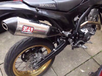 Honda crf250me Yoshimura rs4 race exhaust system crf250l crf 250