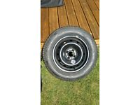Michelin 195/65 15 wheel and tyre