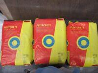 Postcrete x 3 (20kg) Bags