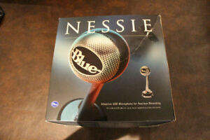 Blue Nessie Mic- Works Perfect