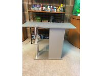 Over 2.5 ft fish tank stand 80 cm long x 1 ft deep look pic