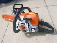 STIHL MS181 CHAIN SAW IN VERY GOOD CONDITION