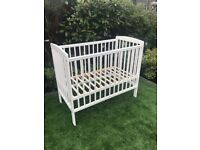 Space Saver Cot With Teething Guard