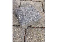 Permeable paving blocks