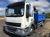 leyland daf 60 reg 2011 7.5 ton grab lorry