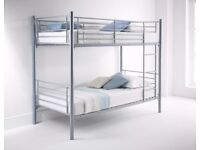 Cheapest Price -- Get It Today -- BRAND NEW METAL BUNK BED SINGLE BED KIDS BED -- CONVERTIBLE BUNK