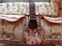 Pink Lining Yummy Mummy Changing bag Twins