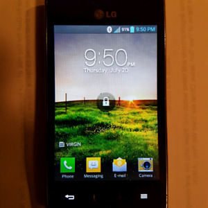 LG Pre-paid cell phone