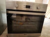 Beko intergrated double oven hardly used £60 ono
