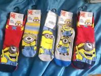 Minions or frozen socks