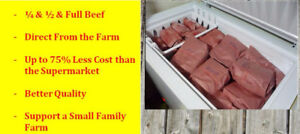 BUY BULK BEEF Direct from a farmer/Stock Up for BBQ!!!