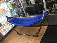 Folding hammock stand - weight capacity 180kg