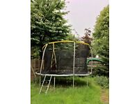 TRAMPOLINE 6ft AND ENCLOSURE QUICK SET UP GUIDE, PERFECT CONDITION