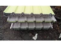 ROOFING SHEETS GALVANISED BOX PROFILE CORRUGATED FLAT SHEETS ANGLES 8ft 10ft 12ft FREE DELIVERY