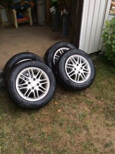 Ford Focus Rims and Tires