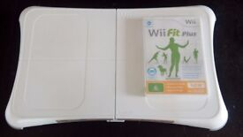 Nintendo Wii Balance Board with WiiFit Plus
