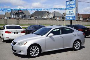 2006 Lexus IS 250 ACCIDENT FREE | KEYLESS ENTRY | CRUISE CONT...