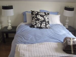 1 bedroom apartment on Dease St. Fully furnished, all inclusive