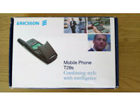 Original ERICSSON T28 - Iconic Flip Phone RARE BOXED !