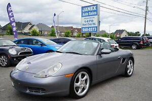 2001 Porsche Boxster ACCIDENT FREE | ONE OWNER | LOW MILEAGE...