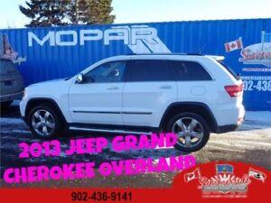 2013 Jeep Grand Cherokee Overland 4x4 FULL LOAD PRICE DROP!