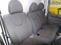 2008 Citroën Dispatch l1h1 car seats and door cards