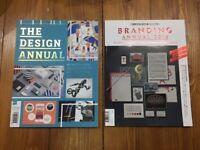 Two design magazine annuals