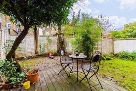 SHORT TERM (3 months 30/8-29/11) :Victorian 2 double Bedroom Garden flat in Islington (N7)