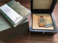 Audemars Piguet, Royal Oak 41mm. Rose Gold, Diamond Encrusted Bezel, Swiss ETA, Sapphire glass +_+_