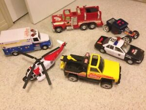 Tonka / Hot wheels Toys - Rescue- Light up and sounds 30$ OBO