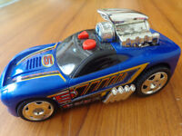 Large Hot Wheels hot rod sound and movement car