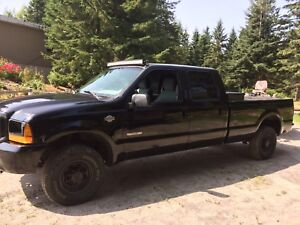Ford F250 diesel 7.3litres power stroke crew cab