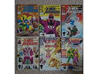 X-Men vs Avengers & X-Men and Alpha Flight