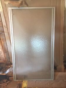 SHOWER   SLIDING   GLASS    DOOR    FOR   SALE