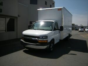 2016 Chevrolet Express Cube Van 4500 Series with 16' Box
