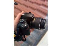 Nikon D3200, 18-55mm and 55-200mm lens