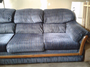 2Couches and 1 armchair
