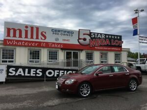 2009 Chevrolet Malibu LTZ 2.4L Leather Bluetooth Sunroof LOW KM