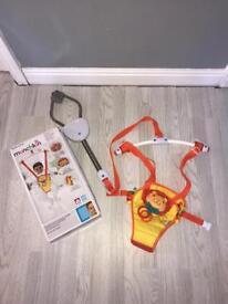 Unisex Adjustable Baby Door Bouncer.