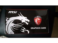 BARGAIN near new MSI GTX 980 Ti Twin Frozr 6G 6GB Gaming Graphics Card faster than GTX 1070 &FreePAD