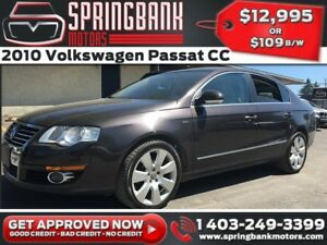 2010 Volkswagen Passat CC w/Sunroof, Leather $109B/W INSTANT APP