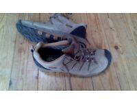 Keen waterproof hiking trainers size 11