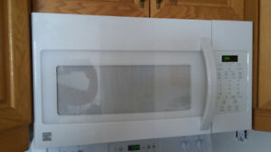 Kenmore over the range microwave