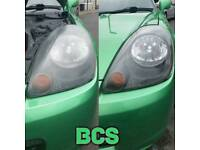 Bristol Car Spa. Headlight restoration