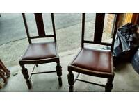 2 pld dining chairs