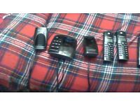 phone house cordless as new condition no faults