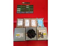 pc parts plus 4 prosessors