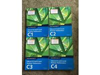 Core Maths Edexcel A-Level C1 C2 C3 C4 Textbooks