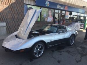 25TH ANNIVERSARY SPECIAL 1978 CORVETTE 350 T-TOP CONVERTIBLE